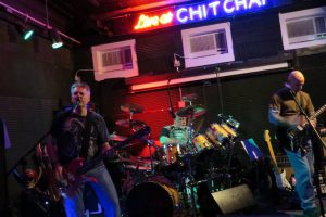 Our first gig - Chit Chat Lounge in Haverhill, MA