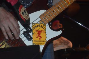 If Van Halen's Michael Anthony can have a Jack Daniels bass...