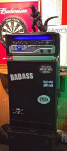 The badass bass rig - Godzilla included...