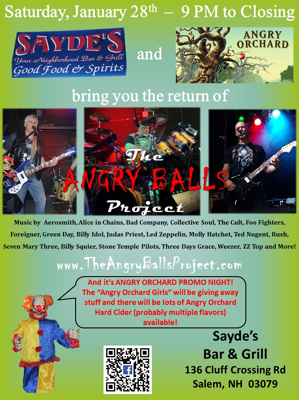 The Angry Balls Project – Page 2 – Toe-Tapping, Head-Banging, Ass ...